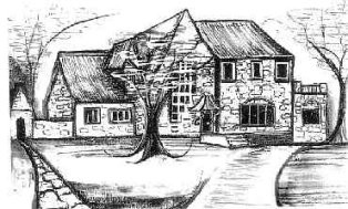 Drawing of the Sudler House