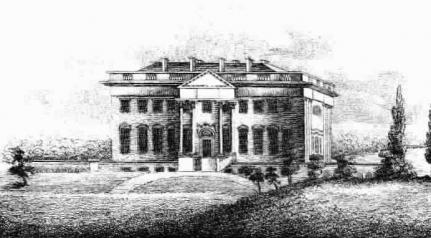 The President's House in 1804 Library of Congress